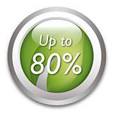 Tiết kiệm lên đến 80% năng lượng