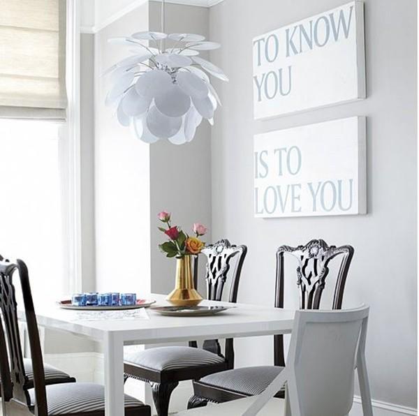 Những mẫu đèn tuyệt đẹp dành riêng cho phòng ăn nhỏ